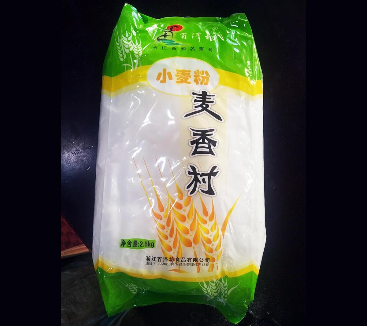 百泽坊麦香村小麦粉 5斤/袋